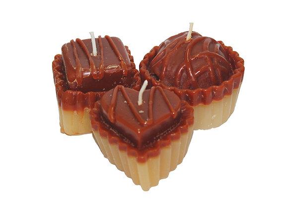 Kit 3 Velas Cupcakes