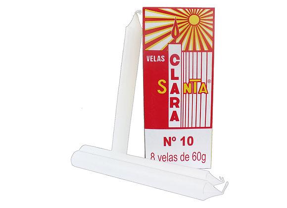 Vela Santa Clara Nº10