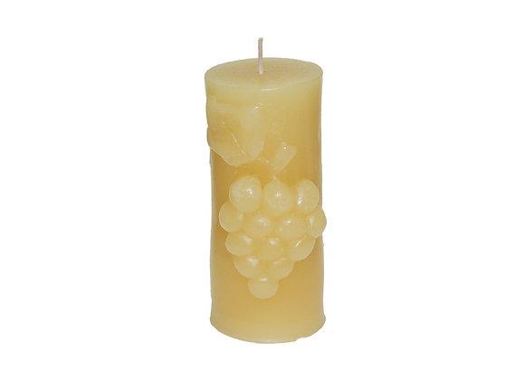 Vela Pilar com Uvas