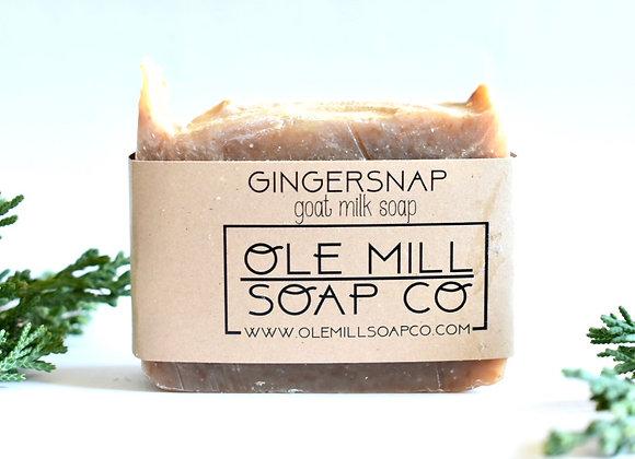 GINGERSNAP GOATS MILK SOAP