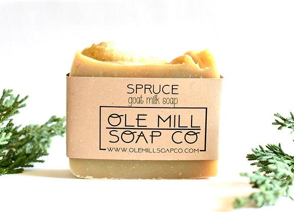 SPRUCE GOATS MILK SOAP