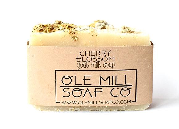 CHERRY BLOSSOM GOAT MILK SOAP