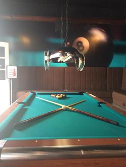Pool Table upstairs