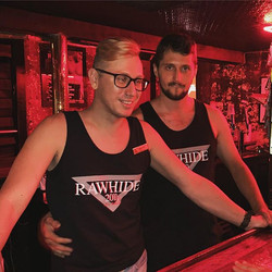 Alex and Jesse serving you all night!