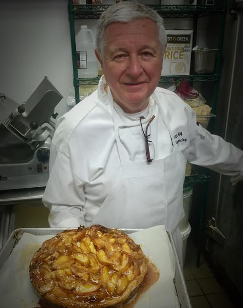 Bob Menendez baking apple pies.  The BEST!