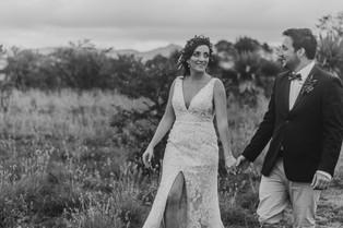 Intimate wedding, elope or backyard wedding