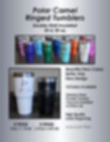 Ring Tumbler - Colors Sell Sheet - Polar