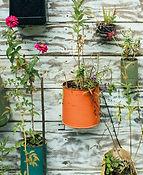 DIY hängende Blumentöpfe
