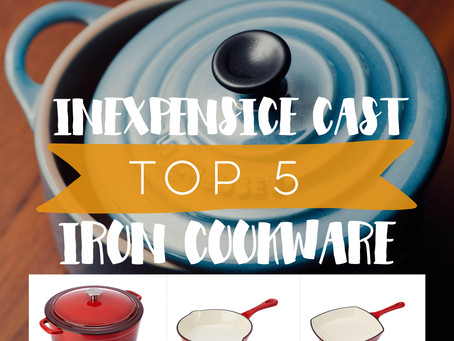 TOP 5: Inexpensive Cast Iron Cookware