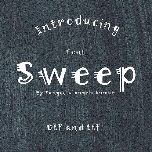 SWEEP (font)