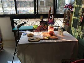 Balcony Studio Set Up