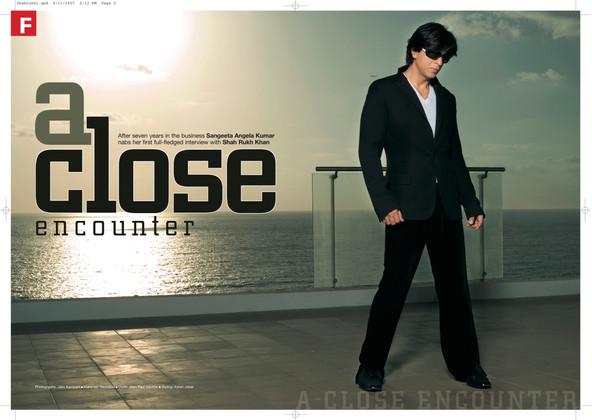SRK Shah Rukh Khan 9 to 5 by Sangeeta An