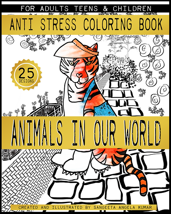 ANIMALS IN OUR WORLD | ANTI STRESS COLOR