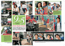 Shah Rukh Khan 9 to 5 by Sangeeta Angela