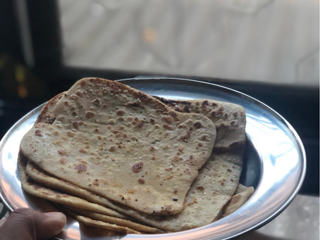 The Imperfect Perfect Meetha Paratha