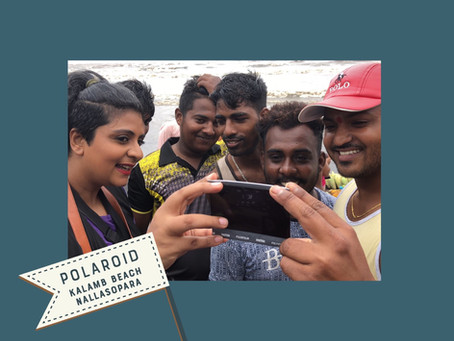 POLAROIDS | KALAMB BEACH | LADY PHOTOGRAPHER