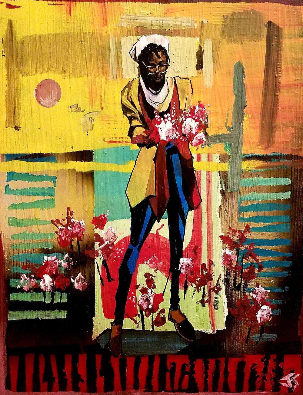 Painting by Fayetteville Artist Joelle Storet