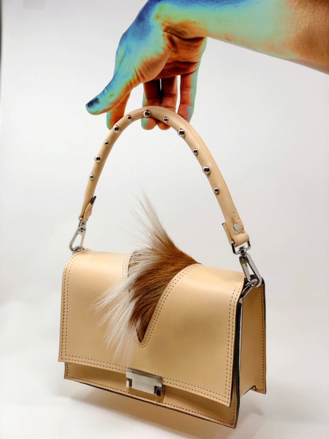 Hand-crafted bag by Bryant Phelan