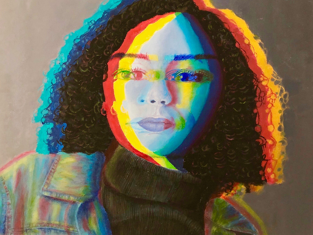 Art by Kerryann Ptacek, the 3rd place winner in the 2019 Visual Arts Scholarship Competition