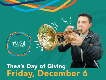 Thea Foundation Announces First-Ever Thea's Day of Giving