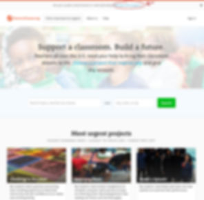 DonorsChoose.org Homepage