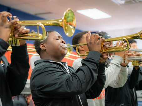 Band Builds Confidence, Community and Creativity at Little Rock School