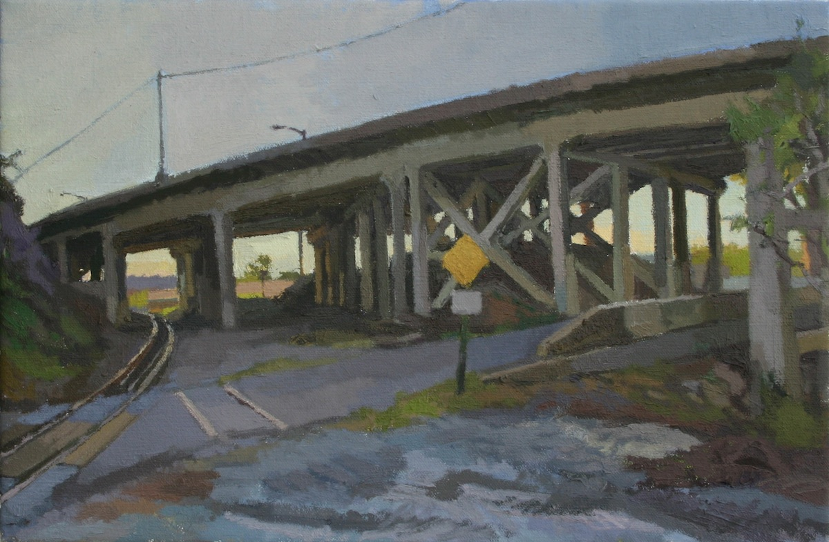 Rogers_ Gill St._ Oil on Canvas_ 12 x 16_ 2014