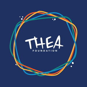 Thea Foundation's new logo created by John Cater of Cater Designs