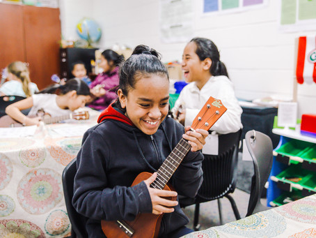 Striking a Chord: Ukulele Club Brings Music and Culture to Springdale School