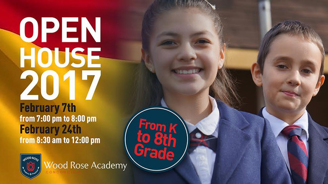 Your child's bright educational future starts with us. Come join our Open House!