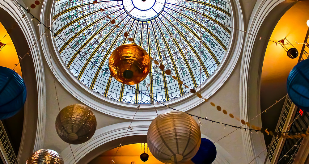Dome at Bixby Library