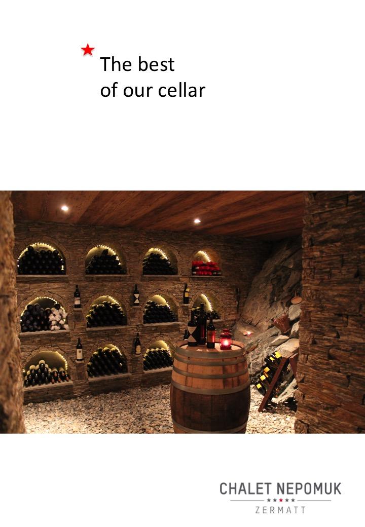 Wine Cellar Chalet Nepomuk