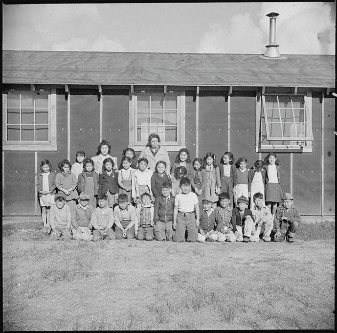 Tule Lake Relocation Center, Newell, California. November 3, 1942.