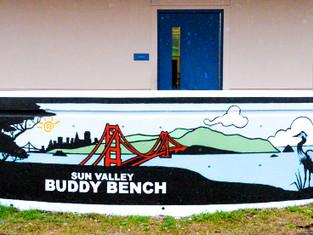 Community Heroes Create Buddy Bench