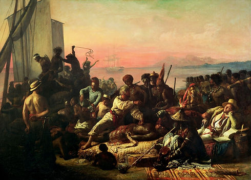 The_Slave_Trade_by_Auguste_Francois_Biar