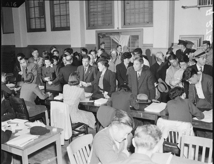 San Francisco, California. April 27, 1942.