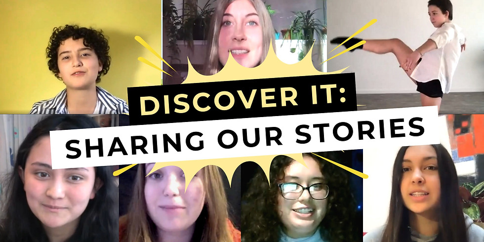 Discover It: Sharing our Stories