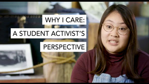 Why I Care: A Student Activist's Perspective