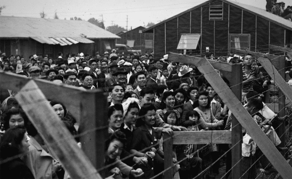 Santa Anita, California, 1944.