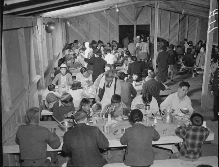 Manzanar, California. April 2, 1942.
