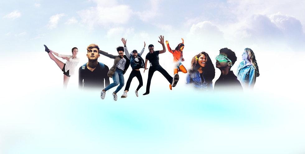 Community Heroes Teens Jumping