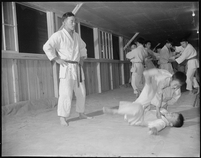 Rohwer Relocation Center, Arkansas. November, 1942.
