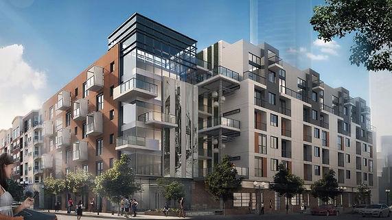 4th&J Apartments Render