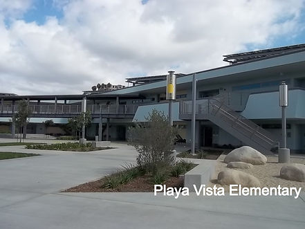 Playa Vista Elementary design
