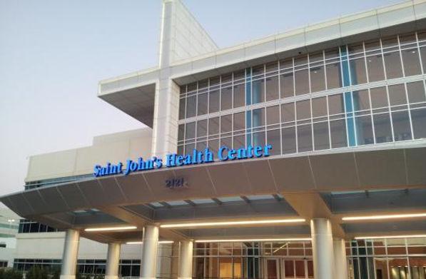 Saint John''s Health Center front entran