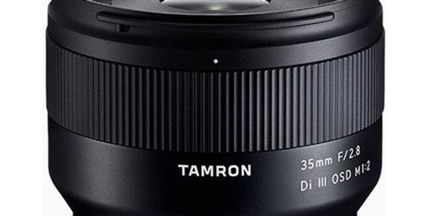 Tamron 35mm f / 2.8 Di III OSD M 1: 2 Lens (Sony E Mount)