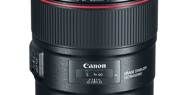 Canon EF 85mm f/1.4L Lens