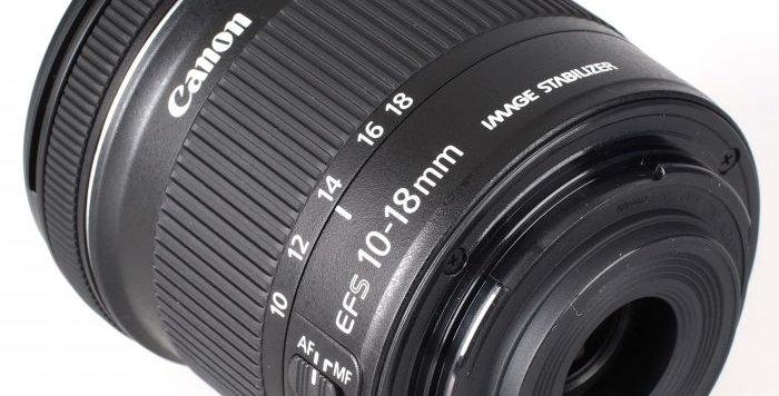 Canon 10-18mm F/4.5-5.6 IS STM Geniş Açı Lens