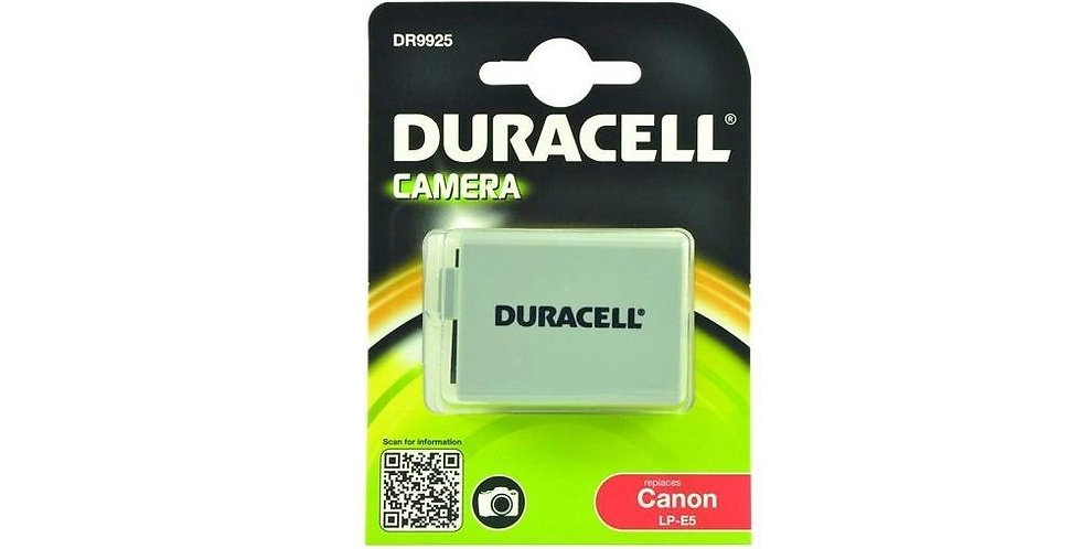 Duracell DR9925 Canon LP-E5 Batarya