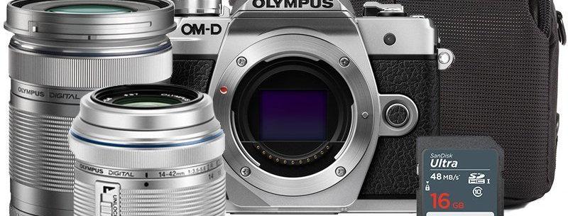 Olympus OM-D E-M10 Mark III 14-42mm II R + 40-150mm Kit